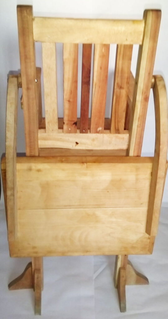 high chair - back