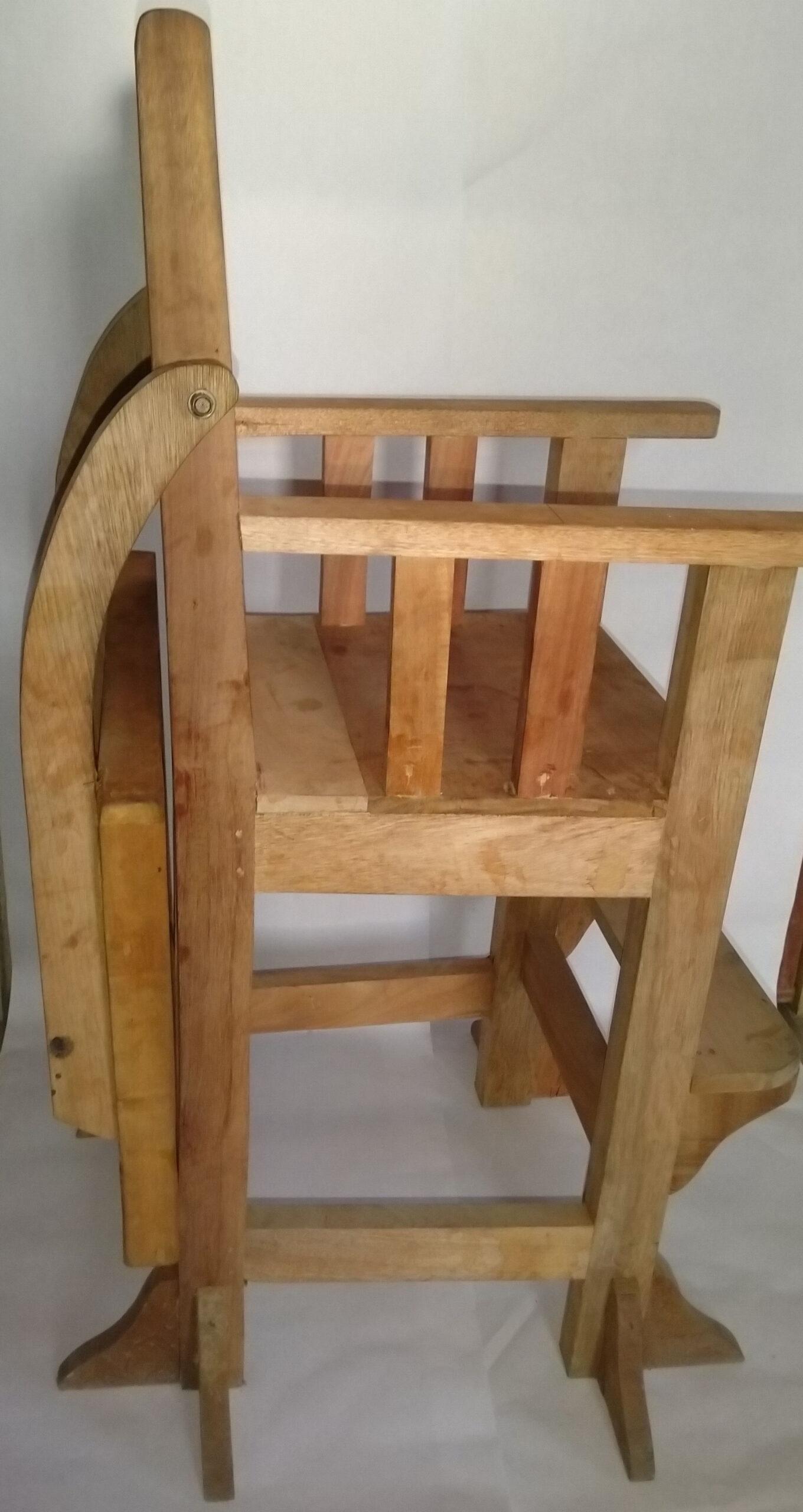 high chair - side